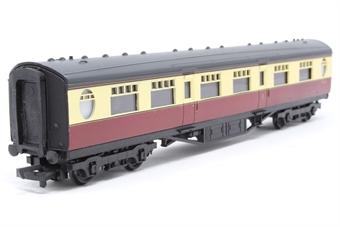 34-400-PO05 59ft. 6in. Thompson Composite Corridor Coach E1207E in BR Crimson & Cream Livery - Pre-owned - Like new