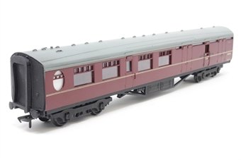 """34-451-PO05 Thompson Coach 63"""" Brake 2nd Maroon BR. - Pre-owned - Missing some glazing, replacement box"""