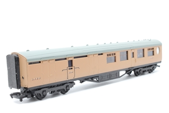 34-452-PO06 63ft. Thompson 2nd Class Brake Corridor Coach 1908 in LNER Brown Livery - Pre-owned - marks on body and roof - imperfect box