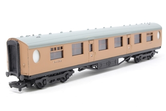 34-477-PO05 Thompson 63ft 1st corridor coach in post-war LNER brown - Pre-owned - Like new