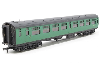 34-526-PO12 Bulleid 2nd corridor coach S130S in BR malachite green - Pre-owned - scratch mark on body