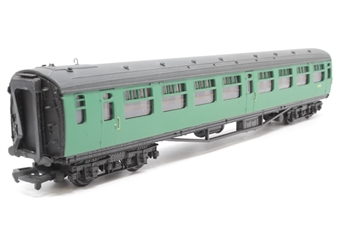 34-526-PO16 Bulleid 2nd corridor coach S130S in BR malachite green - Pre-owned - Imperfect box