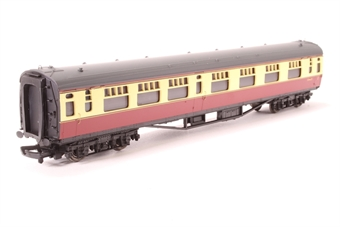 34-553A-PO04 63ft Bulleid corridor composite S5900S in BR crimson and cream - Pre-owned - Loose glazing on one side