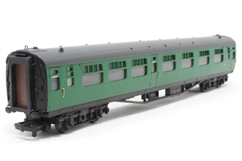 34-554-PO08 Bulleid 63ft corridor 1st/2nd composite in BR(SR) green - Pre-owned - Like new