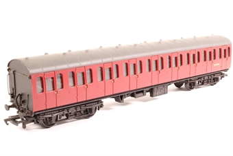 34-600-PO02 BR Standard Mk1 57ft suburban coach M46082 in crimson - Pre-owned - paint marks on roof- imperfect box