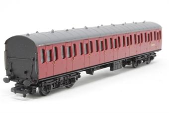 34-600-PO10 BR Standard Mk1 57ft suburban coach M46082 in crimson - Pre-owned - Like new - imperfect box