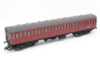 34-601A-PO 57ft BR Mk1 suburban in crimson (LMR) - Pre-owned - Minor scratches on body sides, replacement box