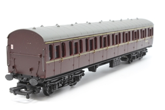 34-603-PO13 BR Standard Mk1 57ft suburban 2nd coach M46074 in maroon - Pre-owned - Like new