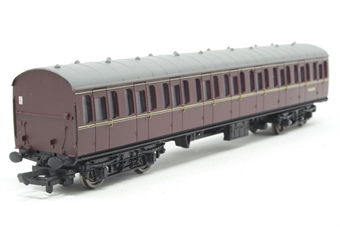 34-604-PO07 BR Standard Mk1 57ft suburban 2nd coach W46199 in maroon - Pre-owned - Like new
