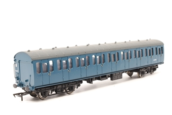 34-607-PO05 BR Standard Mk1 57ft suburban coach in BR blue - Pre-owned - detailed with added lamp