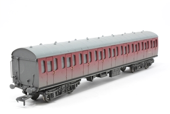 34-609-PO03 Mk1 Suburban 2nd in BR crimson - weathered - Pre-owned - Like new