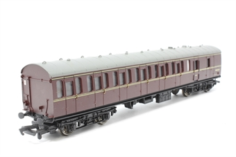 34-627-PO08 Std Mk1 57' suburban brake 2nd coach maroon (WR) - Pre-owned - minor marks on sides- imperfect box