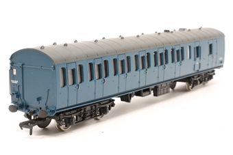 34-629-PO07 BR Standard Mk1 57ft suburban brake coach in BR blue - Pre-owned - Like new, imperfect box