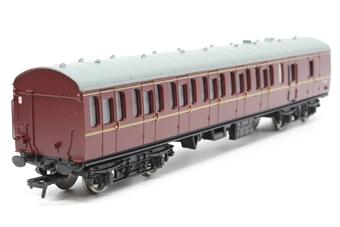 34-630-PO04 BR Standard Mk1 57ft suburban brake coach in BR maroon. - Pre-owned - Like new