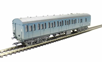 34-633 Mk1 Suburban brake second in BR blue - weathered