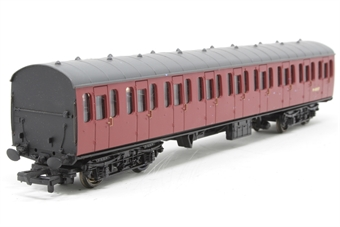 34-676-PO06 BR Standard Mk1 57ft suburban open 2nd coach in BR crimson (M48037) - Pre-owned - marks on sides of coach, replacement box