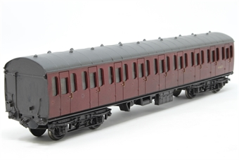 34-676-PO BR Standard Mk1 57ft suburban open 2nd coach in BR crimson (M48037) - Pre-owned - missing coupling - missing one buffer - replacement box
