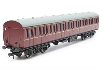 34-700B-PO04 BR Standard Mk1 57ft suburban composite coach in BR maroon. - Pre-owned - Like new