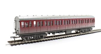 34-703 Mk1 Suburban composite in BR crimson - weathered