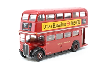 """34103-PO04 AEC RT Bus """"London Transport"""" (Last day of service) - Pre-owned - Like new"""