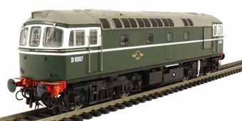 3410 Class 33/0 diesel D6507 in early BR green