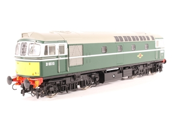 3412 Class 33/0 diesel D6510 in BR green with small yellow panels (Model Rail Magazine Exclusive)