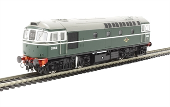 3415 Class 33/0 D6516 in early BR green livery