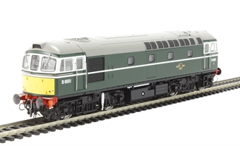 3416 Class 33/0 D6551 in BR green with small yellow panels