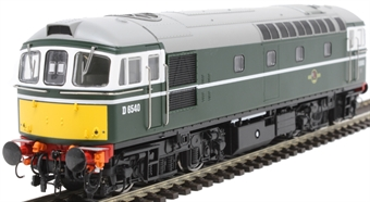 3419 Class 33/0 D6540 in BR green with small yellow ends £118.96