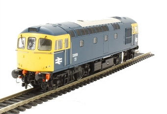 3432 Class 33/0 diesel 33059 in BR blue with full yellow ends