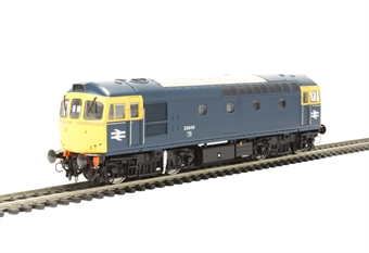 3435 Class 33/0 33049 in BR blue with full yellow ends