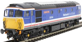 3444 Class 33/1 33114 in Network SouthEast blue