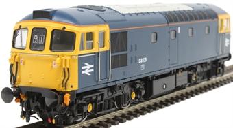 3458 Class 33/1 33106 in BR blue