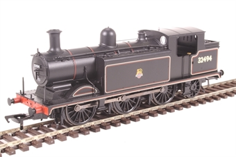 35-079 Class E4 0-6-2T Brighton tank 32494 in BR lined black with early emblem