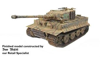 35146 German PzKpfw VI Tiger I Ausf E SdKfz 181 late version with figure £30