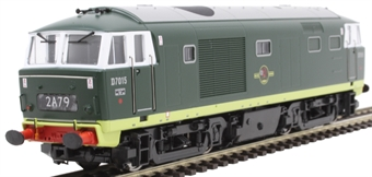3526 Class 35 'Hymek' D7015 in BR green with no yellow ends