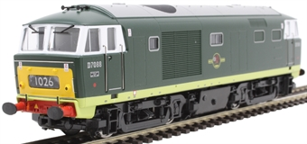 3527 Class 35 'Hymek' D7088 in BR green with small yellow panels
