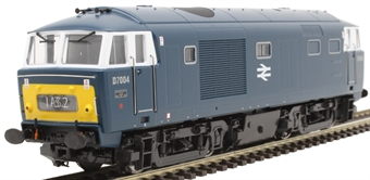 3528 Class 35 'Hymek' D7004 in BR blue with small yellow panels