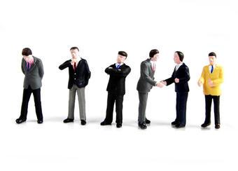 36-040 Businessmen x 6