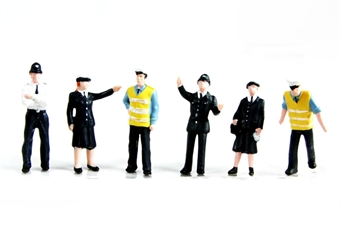 36-041 Police & security staff x 6