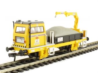 36-151 Plasser OWB10 with crane. Self propelled track maintenance vehicle (motorised)