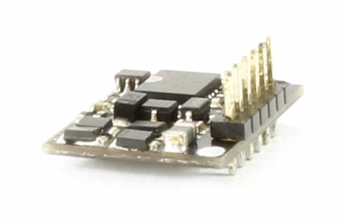 36-556RA 6-pin E-Z Command 90 degree right-angled decoder for GF Jinty (DC Compatible)