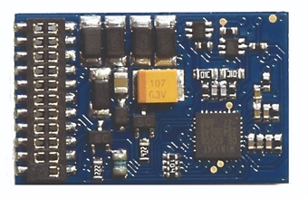 36-557 21-pin E-Z Command 4-function 1A decoder with back EMF £18.66