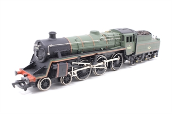 37-053MAIN-PO23 Class 4MT 4-6-0 75001 in BR Green - Pre-owned - detailed mainline body on Bachmann chassis, retailed with real coal, imperfect box
