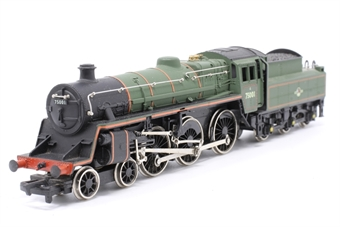 37-053MAIN-PO24 Class 4MT 4-6-0 75001 in BR Green - Pre-owned - damage to cab, imperfect box