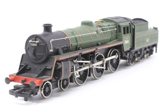 37-053MAIN-PO25 Class 4MT 4-6-0 75001 in BR Green - Pre-owned - body loose from tender - replacement box