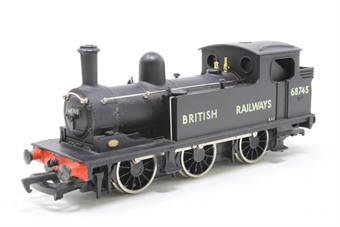 37-055MAIN-PO14 Class J72 0-6-0T 68745 in BR Black - Pre-owned - replacement box