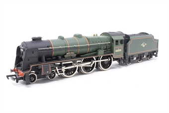 37-057MAIN-PO11 Class 6P Royal Scot 4-6-0 46100 'Royal Scot' in BR Green - Pre-owned - damaged replacement Lima box