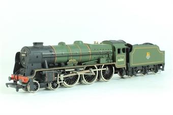 37-057MAIN Class 6P Royal Scot 4-6-0 46100 'Royal Scot' in BR Green