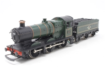 37-077Mainline-PO18 Class 2251 Collett Goods 0-6-0 3210 in BR Green - Pre-owned - missing one coupling hook, glue marks on footplate and buffer beam, moddified tender connection and tender underchassis - imperfect box